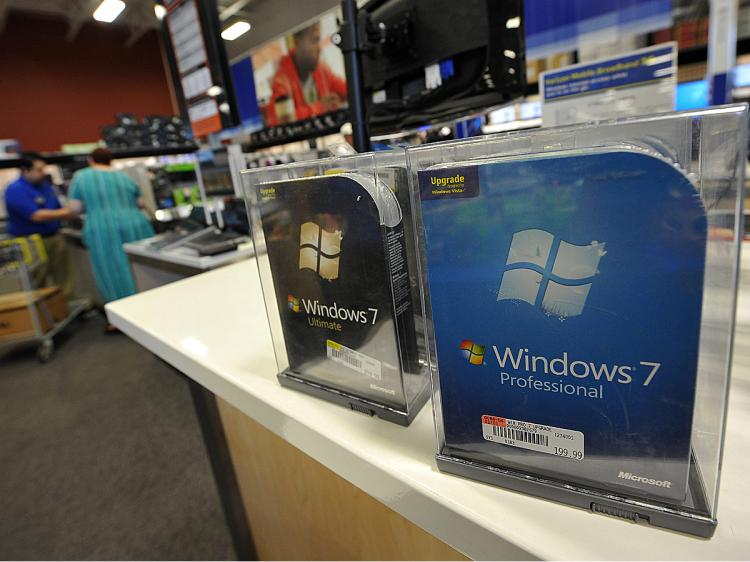 Micorsoft will be selling its products in its own retail outlets. (Robyn Beck/AFP/Getty Images)