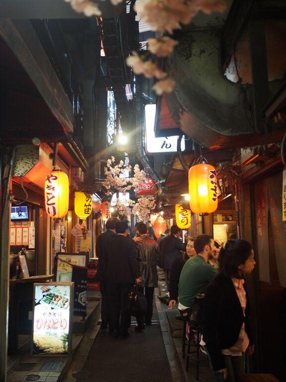 Omoide Yokocho, or Memory Lane. (Won Xue Li/Epoch Times)