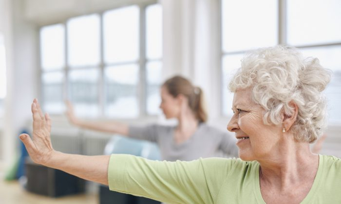 If you have arthritis, yoga can help reduce pain and allow you to feel calmer. (Jacob Ammentorp Lund/iStock)