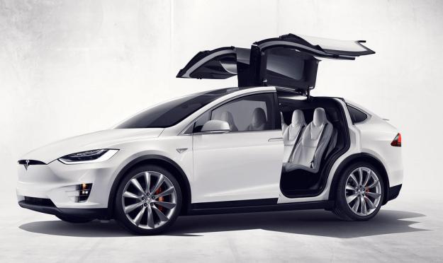 Tesla Model X. (Tesla)