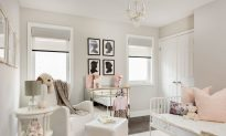 Designer Space: Pretty in Pink Nursery
