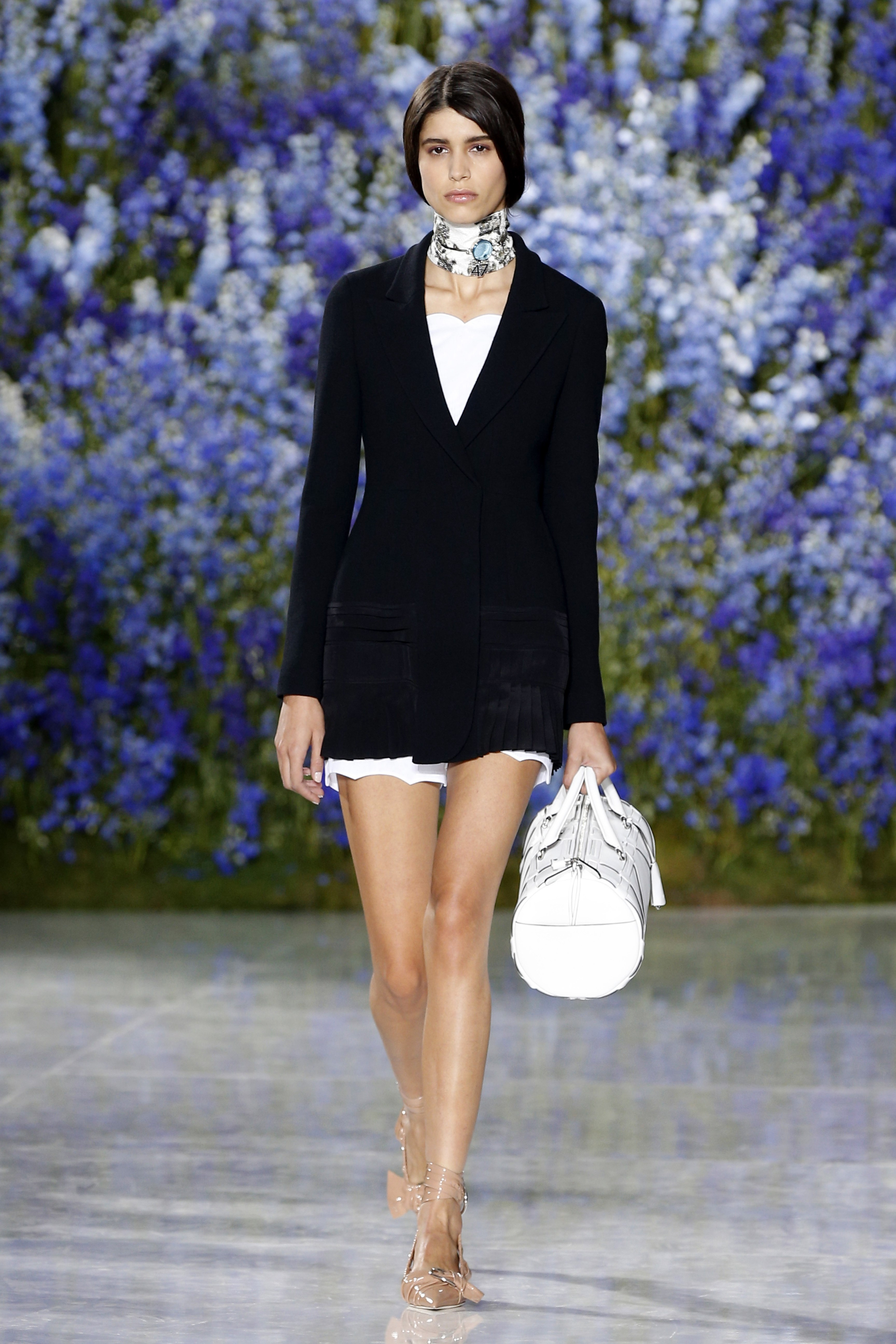 32a2e41e23d91 A model presents a creation for Christian Dior during the 2016  Spring/Summer ready-