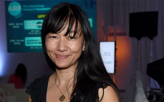 Tania Yuki at the Data Congressa in New York City, on September 30, 2015. (Mike Pont/Getty Images for AWXII)