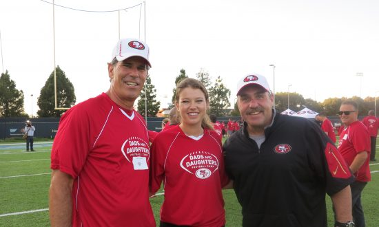 San Francisco 49ers Host Football Camp for Fathers and Daughters