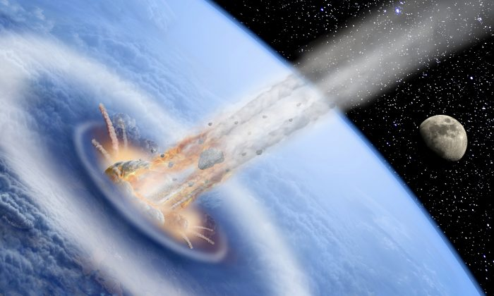 Football Field-Sized Asteroid Flies Past Earth: NASA