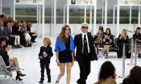Chanel Flies the Silvery Skies
