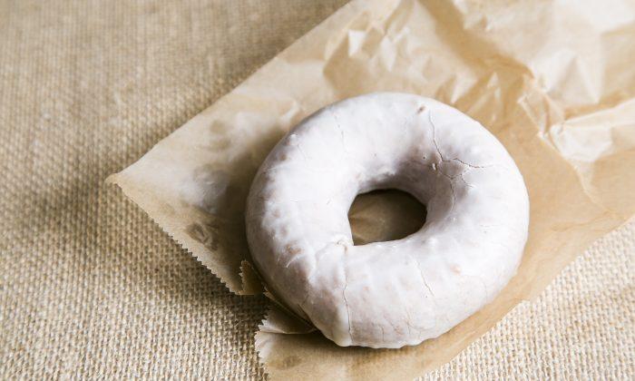Tres Leches donut. (Samira Bouaou/Epoch Times)