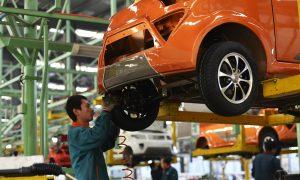 China's Auto Production, a Manufacturing Backbone, Slumping