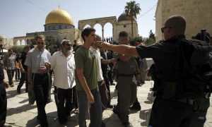 Jewish, Muslim Groups Raise Temperature at Contested Shrine