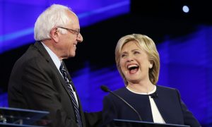 Clinton, Sanders Clash on Guns, Economy, Foreign Policy