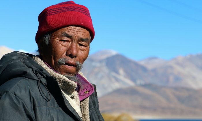 Tsering Tunduk fled Tibet in 1959 after Chinese soldiers executed his parents. (Nolan Peterson/The Daily Signal)
