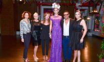Naeem Khan Unveils Purple Dress for Alzheimer's Association's Rita Hayworth Gala