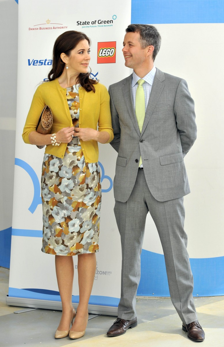 Denmark's Crown Prince Frederik/Crown Princess Mary