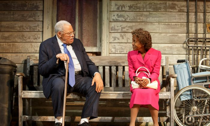 "Stars James Earl Jones and Cicely Tyson make this rebooting of the D.L. Coburn  play ""The Gin Game"" wonderful. (Joan Marcus)"