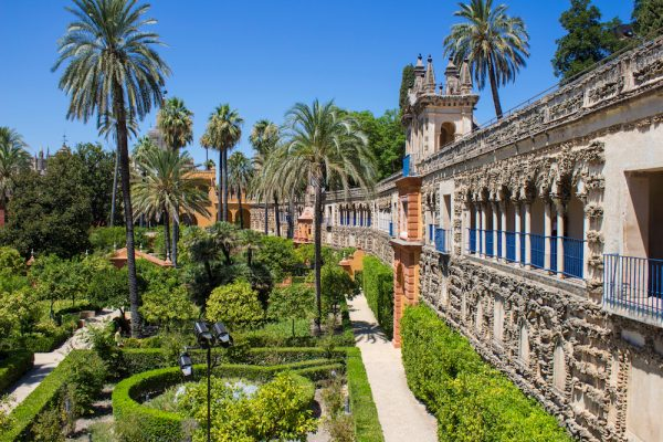 Royal Alcazar of Seville (Real Alcazar de Sevilha), Seville, Spain