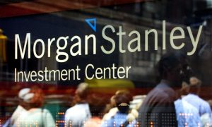 Morgan Stanley's Earnings Are Hit by Bond Trading Slump