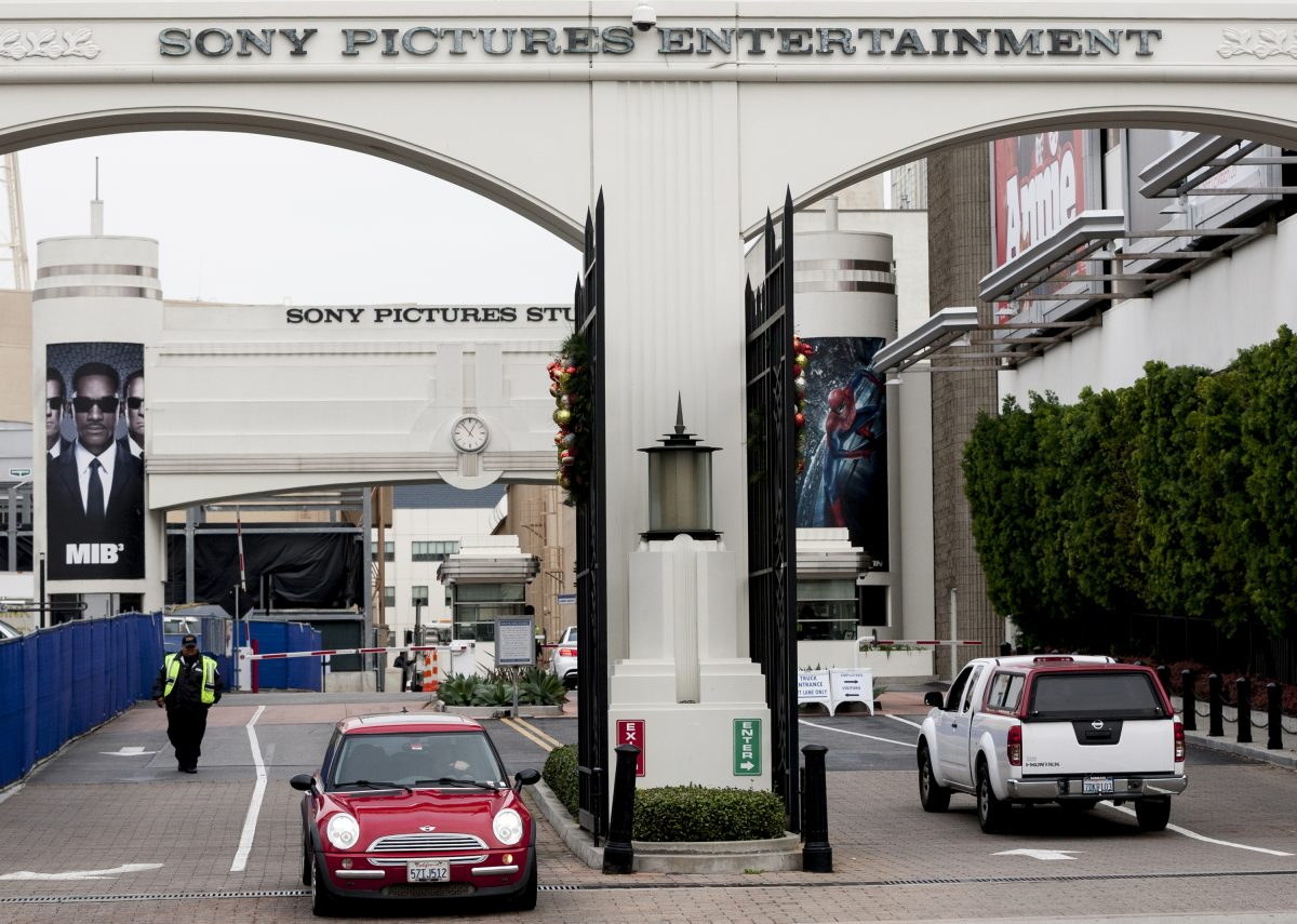 The entrance of Sony Pictures Entertainment