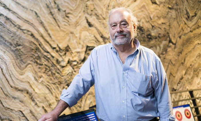Dr. Edmond Mathez, Curator of the Department of Earth and Planetary Sciences at the American Museum of Natural History in New York City on Oct. 15, 2015. (Samira Bouaou/Epoch Times)