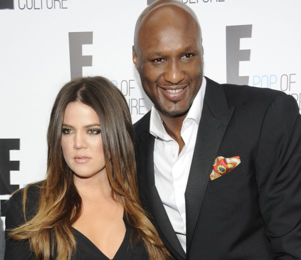 "Khloe Kardashian Odom and Lamar Odom from the show ""Keeping Up With The Kardashians"" attend an E! Network upfront event at Gotham Hall in New York on April 30, 2012. A family representative says Lamar Odom has left a Las Vegas hospital and is now in the Los Angeles area to continue his recovery a week after being found unconscious at a Nevada brothel. Alvina Alston, publicist for Odom's aunt JaNean Mercer, said Tuesday, Oct. 20, 2015, that the former NBA star was transported by helicopter from Sunrise Hospital and Medical Center in Las Vegas around 5 p.m. Monday. (AP Photo/Evan Agostini)"