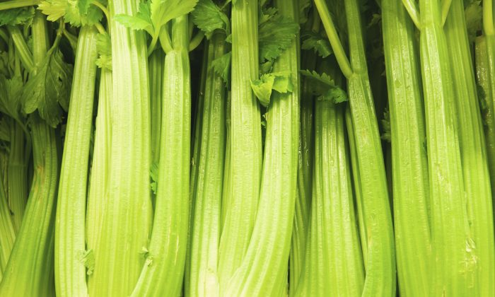 Stalking celery in the grocery store is a great way to round up some antioxidant fire power. (gillian08/iStock)