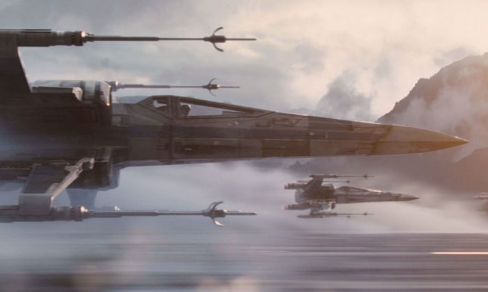 The real force of Star Wars is to be found in its music, an aural cocktail of orchestral pieces punctuated with lightsabers, hyperspace leaps, and a hint of droid. (Walt Disney Studios Motion Pictures)