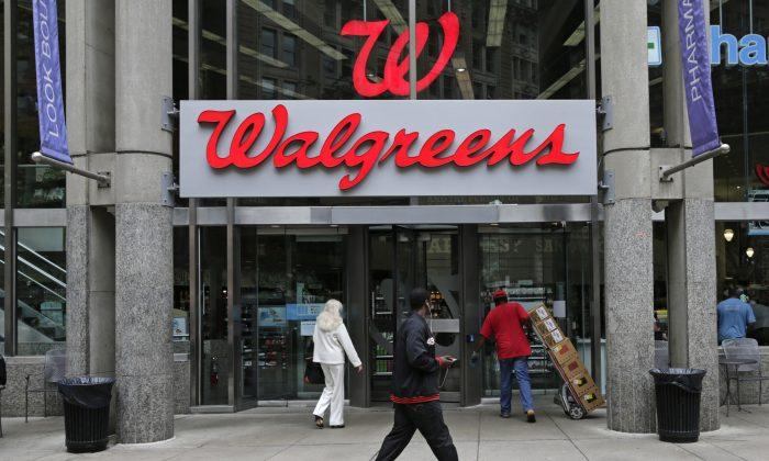 A Walgreens retail store in Boston, on June 4, 2014. (AP Photo/Charles Krupa)