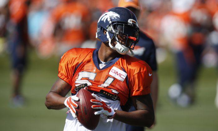 Denver Broncos outside linebacker Brandon Marshall led the team in tackles in 2014. (AP Photo/David Zalubowski)