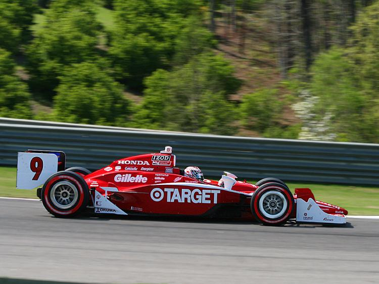 Scott Dixon had the second-fastest car all day. (James Fish/The Epoch Times)