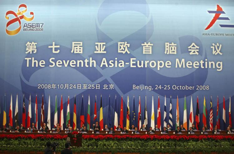 The latest ASEM Summit took place in Beijing. Some say China is headed for a financial crisis? (Pool/Getty Images)