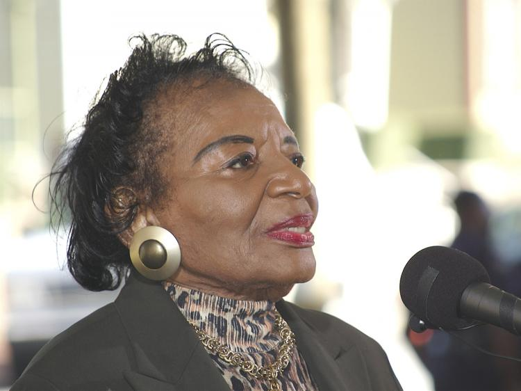 King family matriarch Christine King Farris chose to forgo inheriting her family home so that it could be preserved as the birthplace of her brother, Martin Luther King.