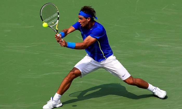 Rafael Nadal. (Chris Trotman/Getty Images)