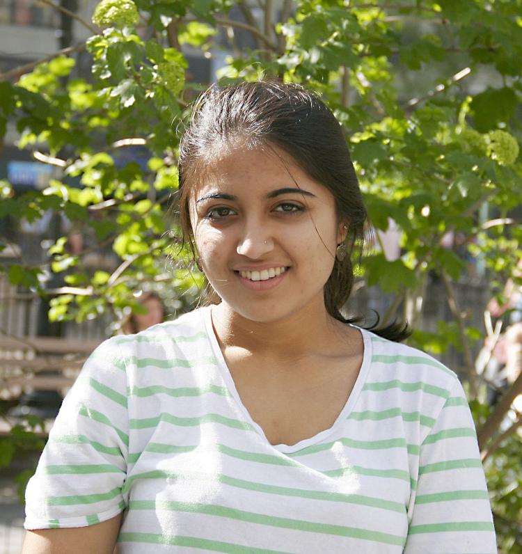 Swati, 20, student, Queens