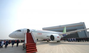 CHINA SECURITY: Foreign Manufacturers Behind China's First Homegrown Passenger Plane