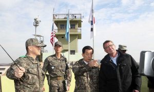 US, South Korea Pledge to Strengthen Defenses Against North