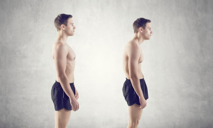 Years of poor posture leads to a weak back that is vulnerable to injury. (undrey/iStock)