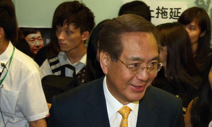 Arthur Li at Hong Kong University on July 28, 2015. (Epoch Times)