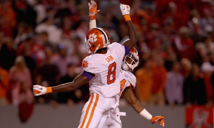 The undefeated Clemson Tigers are No. 1 in the initial CFP rankings this week, yet it guarantees them nothing for next week or the all-important final ranking in December. (Streeter Lecka/Getty Images)