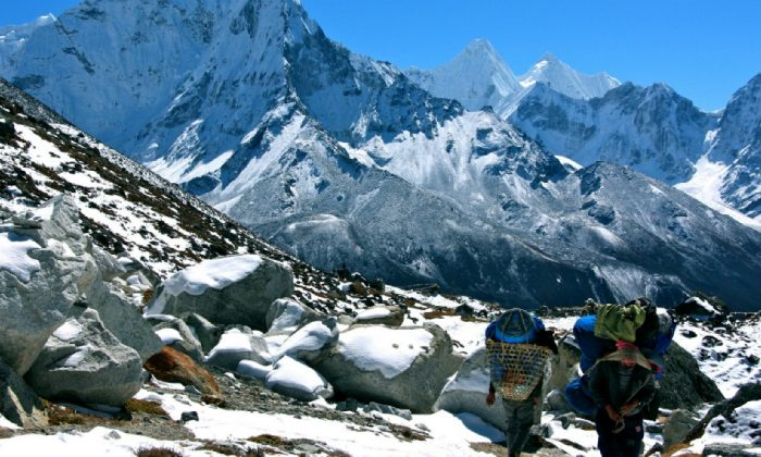 Many places in Nepal are still only accessible on foot. (Nolan Peterson/The Daily Signal)