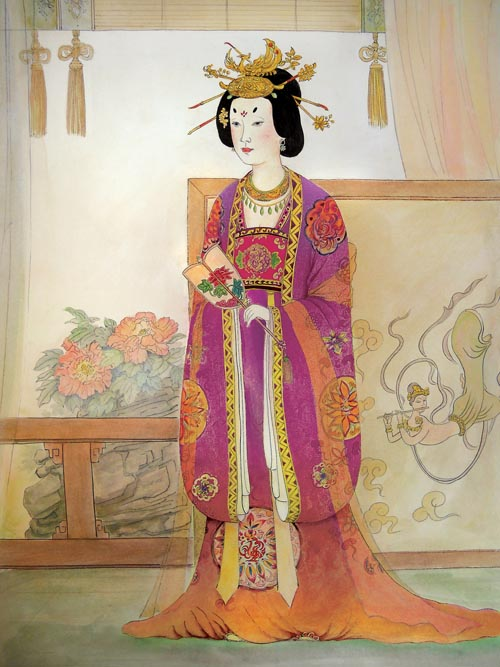 Tang Dynasty Empress Zhangsun. (Taste of Life)