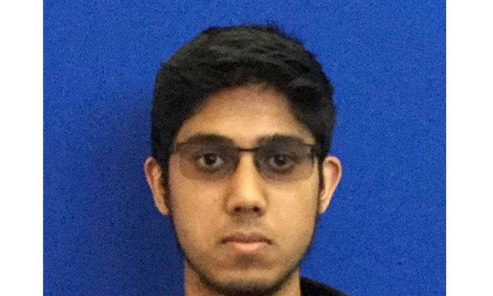 This undated photo provided by the University of California, Merced shows freshman Faisal Mohammad of Santa Clara, California. Authorities say Mohammad burst into a classroom at the California school, stabbing several people before being shot and killed by police, Wednesday. (University of California, Merced via AP)