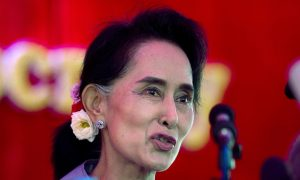 Burma's Suu Kyi Eyes Post 'Above the President'