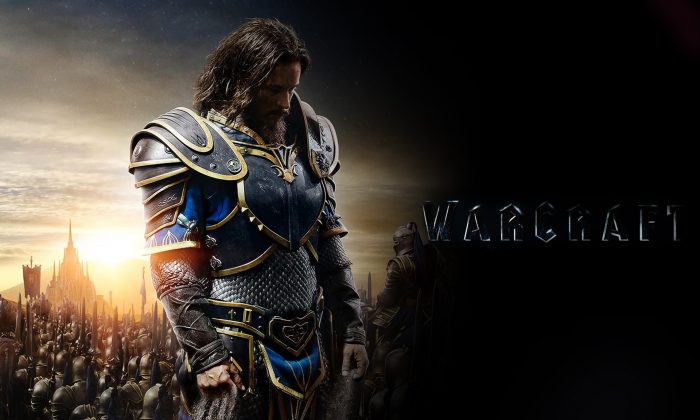 "Dominic Cooper as King Llane Wrynn in Activision Blizzard's movie ""Warcraft."" (Activision Blizzard)"