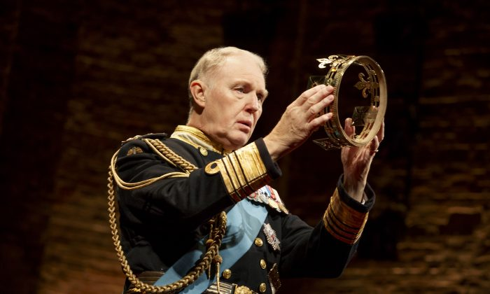 """What might happen if Prince Charles became king?  Tim Pigott-Smith takes the title role in """"King Charles III"""" in just such a scenario. (Joan Marcus)"""