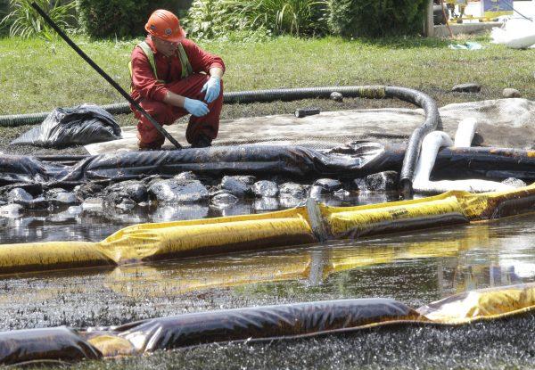 Enbridge spill