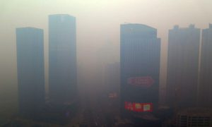 PHOTOS: Smog in Parts of China Is so Bad Now That People Can Hardly Take It