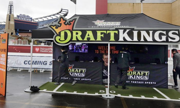 New York's attorney general on November 10 ordered the daily fantasy sports companies DraftKings and FanDuel to stop accepting bets in the state. (AP Photo/Charles Krupa)