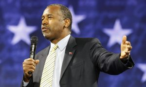 An Overshadowed Ben Carson Trying to Re-energize Supporters