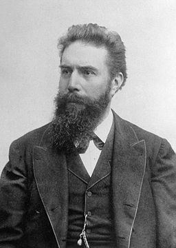 Portrait of Wilhelm Roentgen (See page for author (Wikimedia Commons)