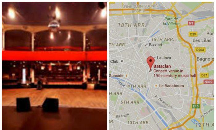 (Bataclan Theater; Google Maps)