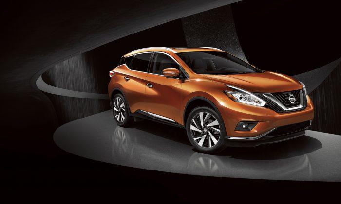 2015 Nissan Murano. (Courtesy of Nissan)